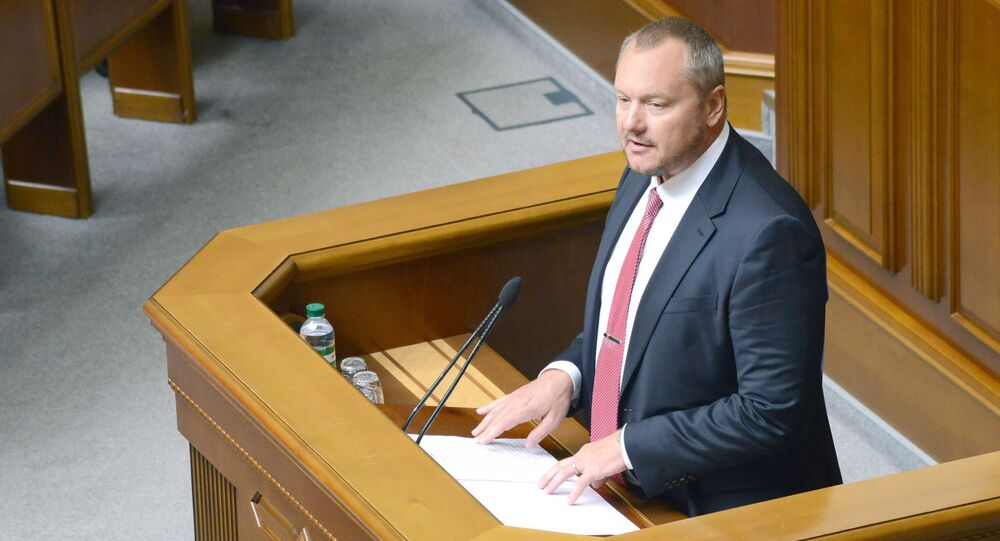 Bývalý ukrajinský poslanec Andrej Artěmenko