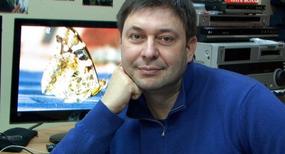 Novinář Kirill Vyšinskij