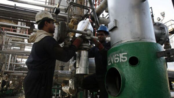 Závod na zpracování ropy v Teheránu - Sputnik Česká republika