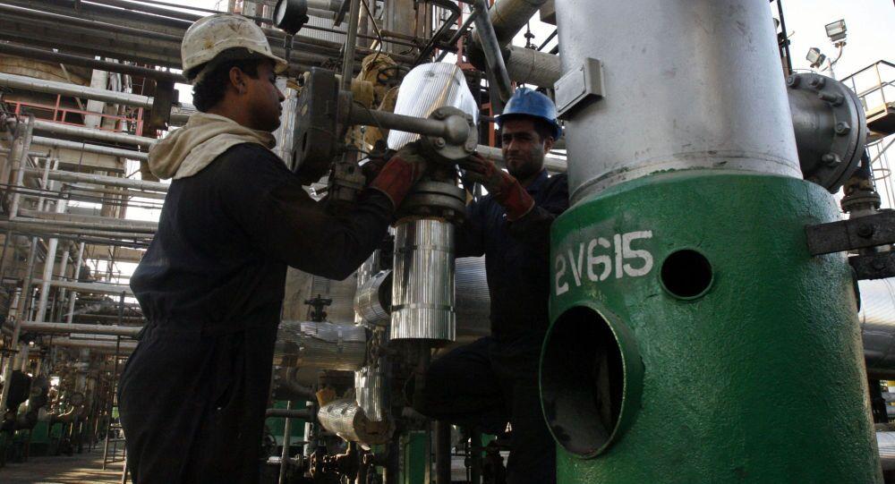 Závod na zpracování ropy v Teheránu