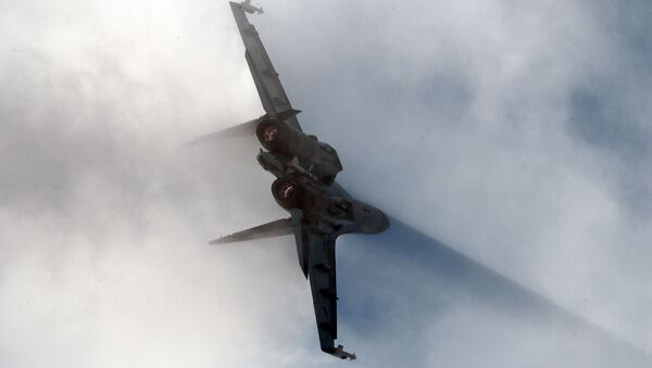 Stíhací letoun Su-35 - Sputnik Česká republika