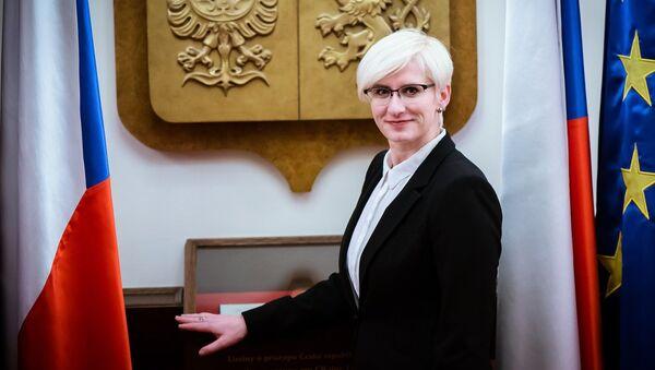 Bývala ministryně obrany ČR Karla Šlechtová - Sputnik Česká republika