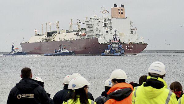 Loď se zkapalněným plynem z USA - Sputnik Česká republika