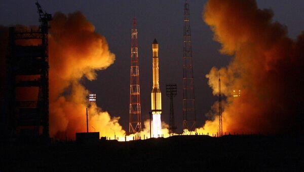 Raketa s třemi družicemi Glonass - Sputnik Česká republika