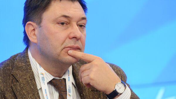Šéf portálu RIA Novosti Ukrajina Kirill Vyšinský - Sputnik Česká republika