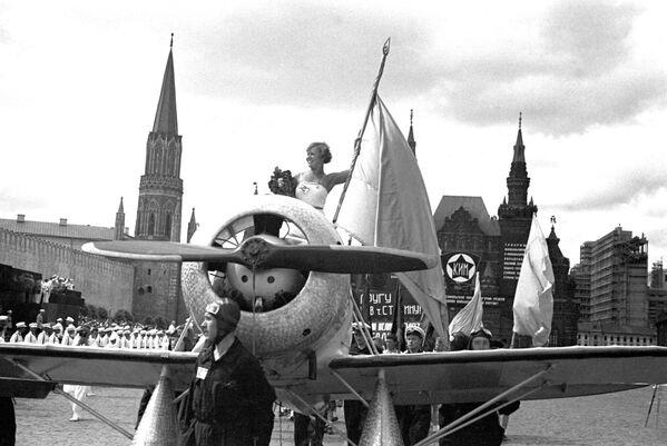 Kult sportu. 99 let od provedení první spartakiádní přehlídky v Moskvě - Sputnik Česká republika