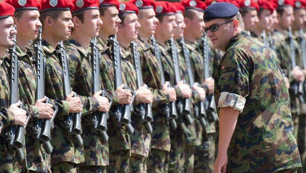 Vojáci armády Švédska - Sputnik Česká republika