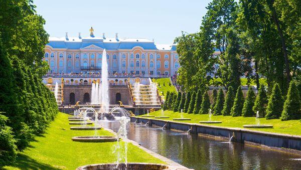 Большой Петергофский дворец - Sputnik Česká republika