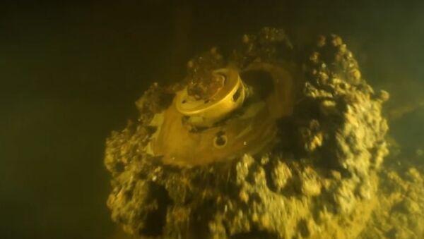V Petrohradě objevili potopenou vlajkovou loď Ladožské flotily - Sputnik Česká republika