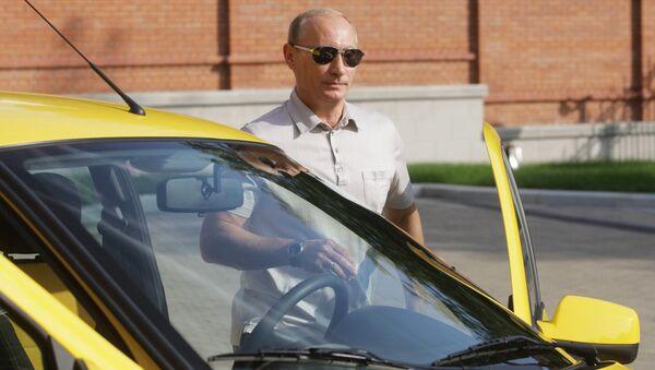 Vladimir Putin v roce 2010 - Sputnik Česká republika