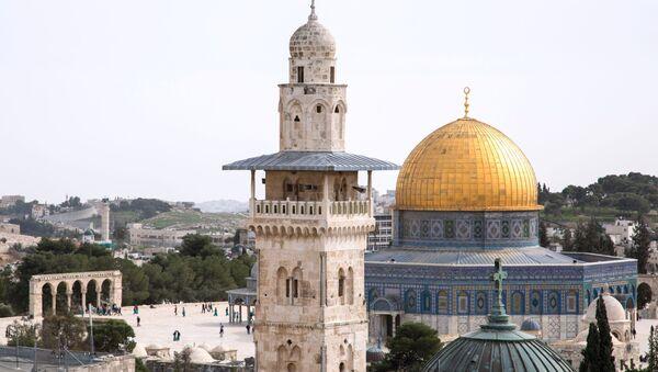 Pohled na Skalní dóm v Jeruzalémě - Sputnik Česká republika