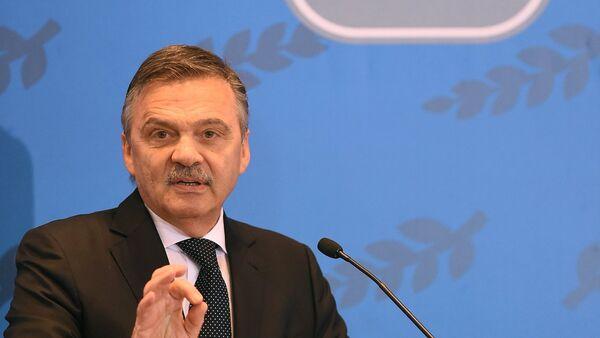 René Fasel - Sputnik Česká republika