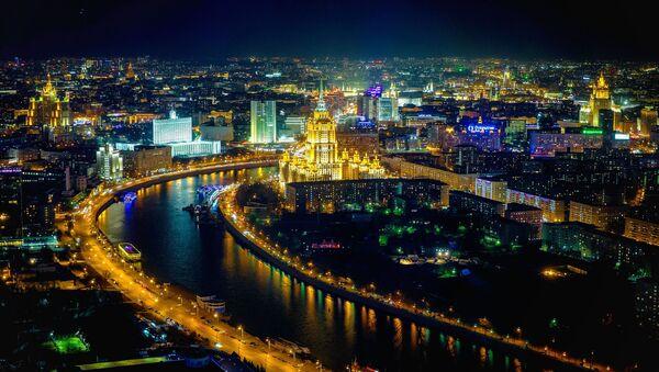 Výhled na noční Moskvu - Sputnik Česká republika