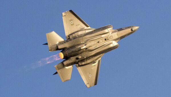 Izraelská stíhačka F-35 Lightning II - Sputnik Česká republika