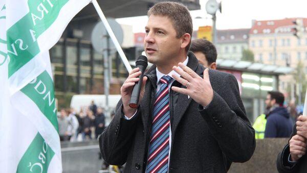 Zakladatel Svobodných Petr Mach - Sputnik Česká republika