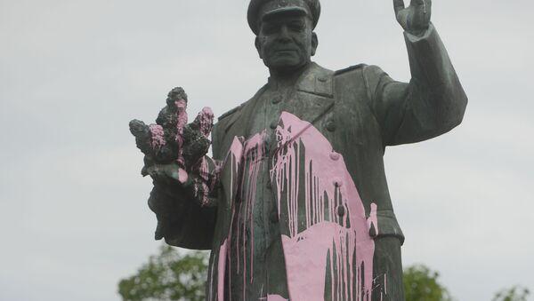 Pomník maršála Ivana Koněva v Praze - Sputnik Česká republika