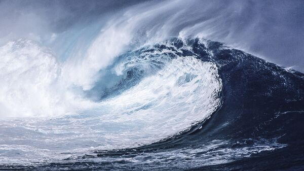Vlna tsunami - Sputnik Česká republika