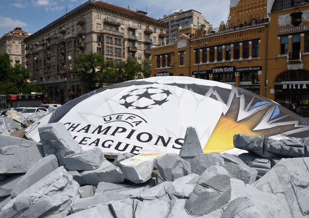 Příprava na Ligu mistrů v Kyjevě. Ilustrační foto