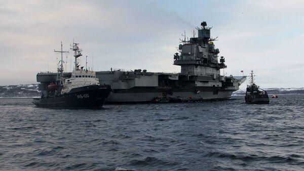 Admiral Kuzněcov v Severomorsku - Sputnik Česká republika
