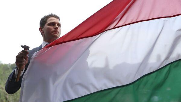 Maďarská vlajka - Sputnik Česká republika