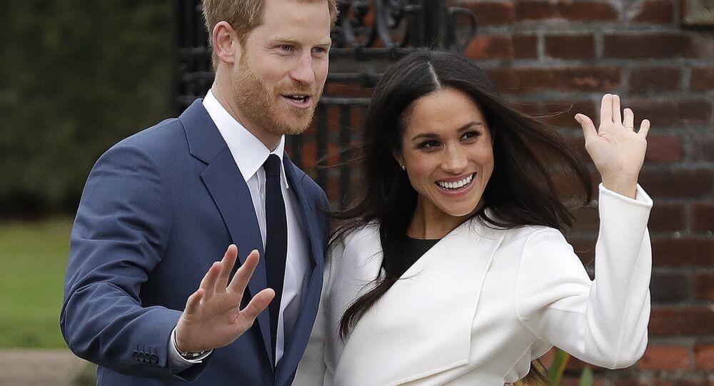 Meghan Markleová se svým manželem princem Harrym