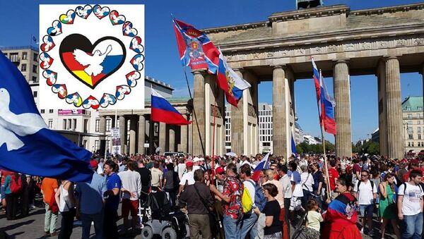 Účastníci Freundschaftsfahrt v Berlíně - Sputnik Česká republika
