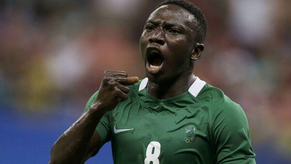 Hráč nigerijské reprezentace - Sputnik Česká republika