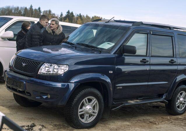 Obrněný automobil Jesaul vyvinutý na základě UAZ Patriot