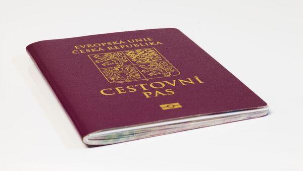 Český pas - Sputnik Česká republika