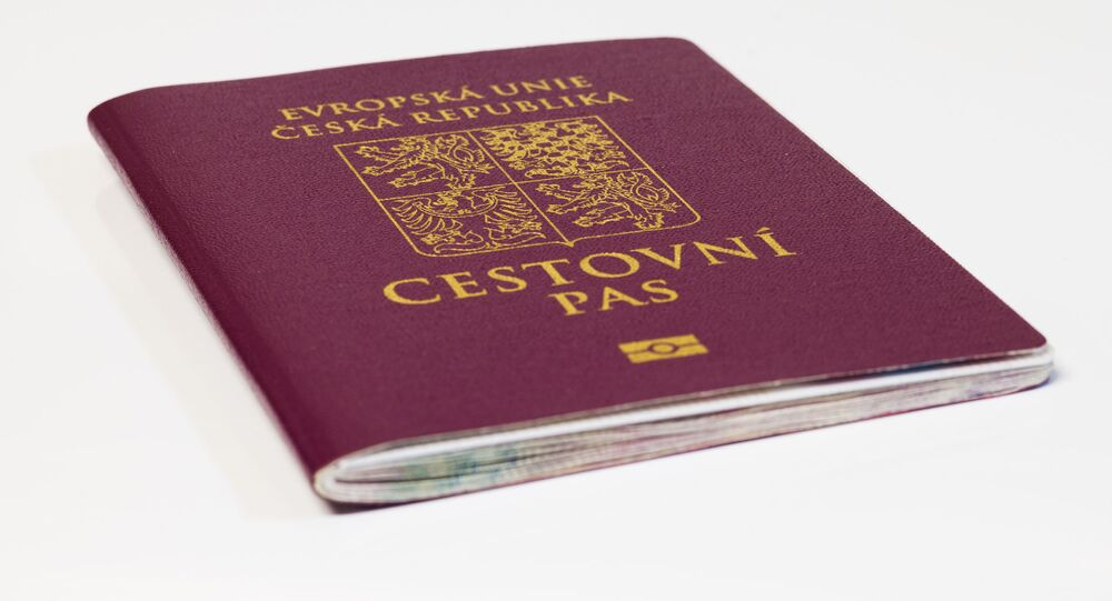 Cestovní pás občana České republiky