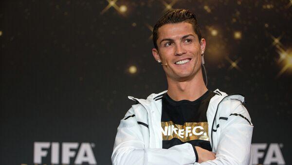 Cristiano Ronaldo. Ilustrační foto - Sputnik Česká republika