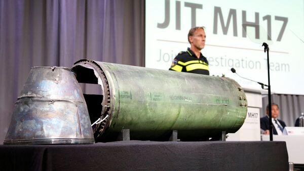 Pozůstatky rakety podle závěrů společné vyšetřovací skupiny - Sputnik Česká republika