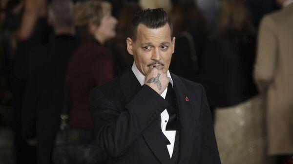 Americký herec Johnny Depp - Sputnik Česká republika