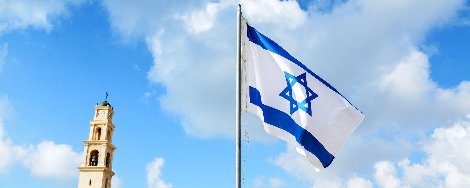 Izraelská vlajka - Sputnik Česká republika, 1920, 13.06.2021