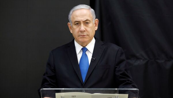 Benjamin Netanjahu - Sputnik Česká republika