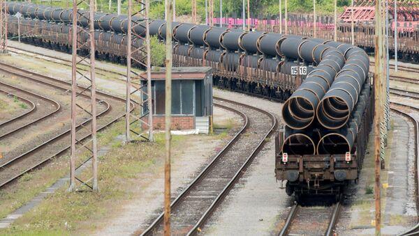 Roury pro Severní proud 2 - Sputnik Česká republika