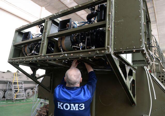 Systém radioelektonické obrany 1L262E Rtuť-BM