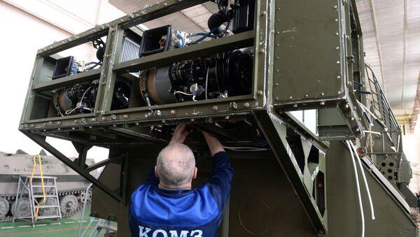 Systém radioelektonické obrany 1L262E Rtuť-BM - Sputnik Česká republika