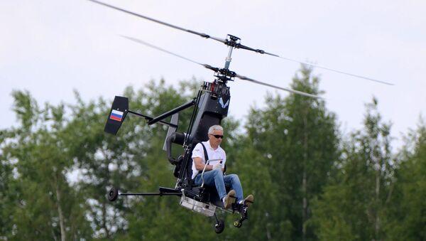 Vrtulník Mikron - Sputnik Česká republika