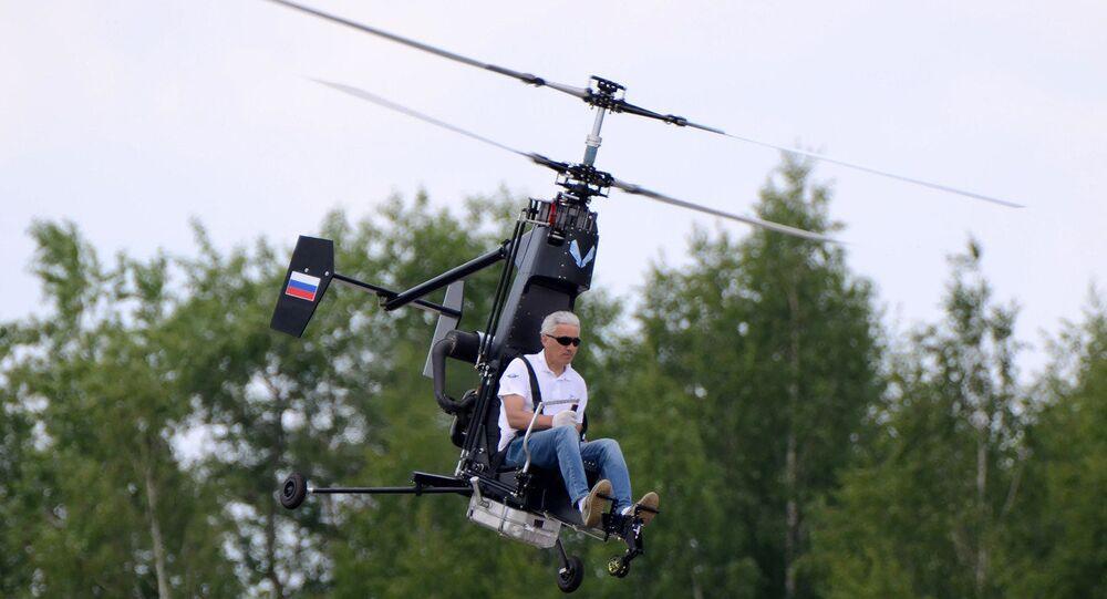 Vrtulník Mikron