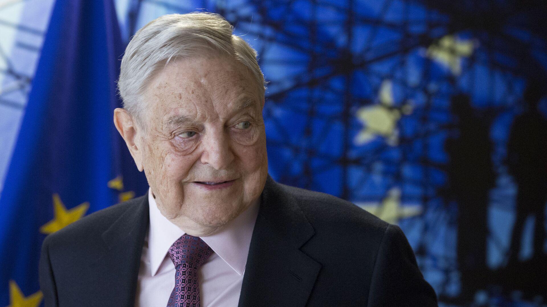 Americký miliardář George Soros - Sputnik Česká republika, 1920, 23.07.2021