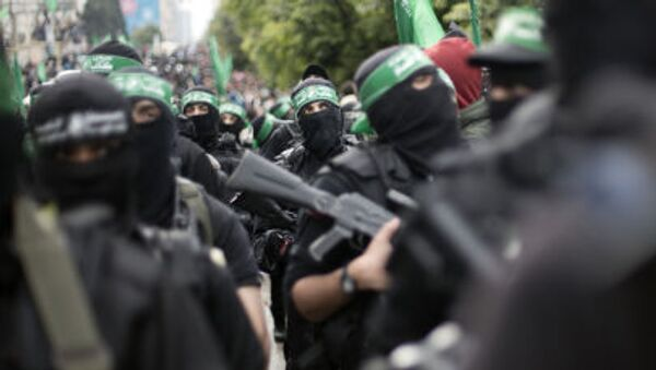 Příslušníci palestinské skupiny Hamás - Sputnik Česká republika