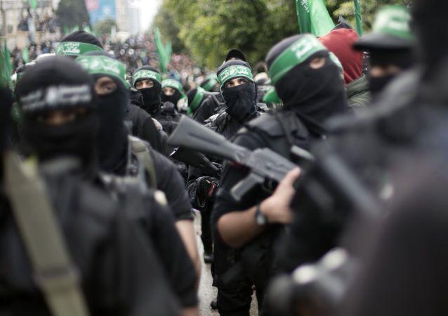 Příslušníci palestinské skupiny Hamás