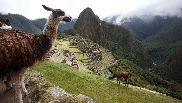 Pevnost Inků Machu Picchu - Sputnik Česká republika