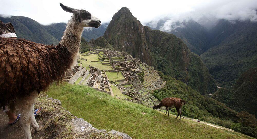 Pevnost Inků Machu Picchu