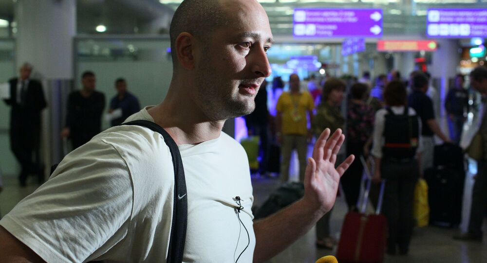 Ruský novinář Arkadij Babčenko