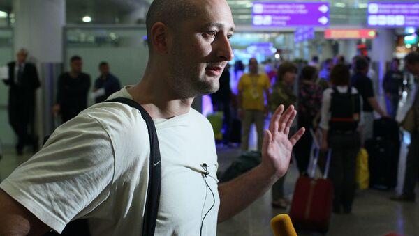 Ruský novinář Arkadij Babčenko - Sputnik Česká republika
