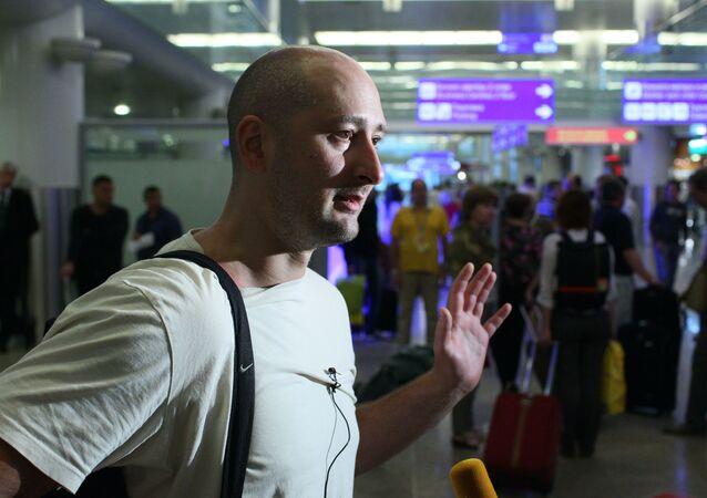 Ruský vojenský novinář Arkadij Babčenko