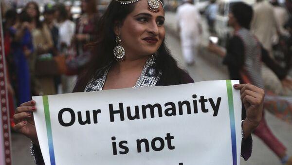 Transgender z Pákistánu - Sputnik Česká republika