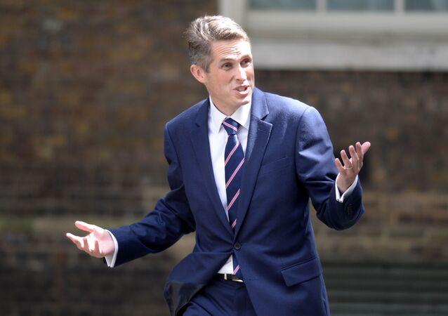 Ministr obrany Velké Británie Gavin Williamson